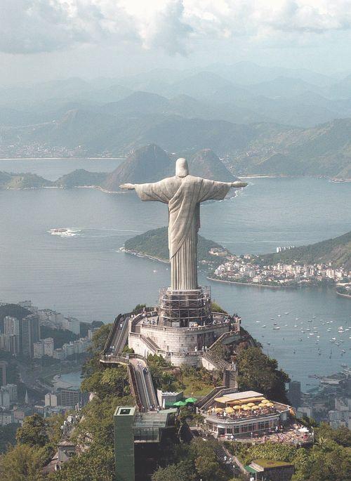 Christ the Redeemer statue--Rio de Janeiro, Brazil