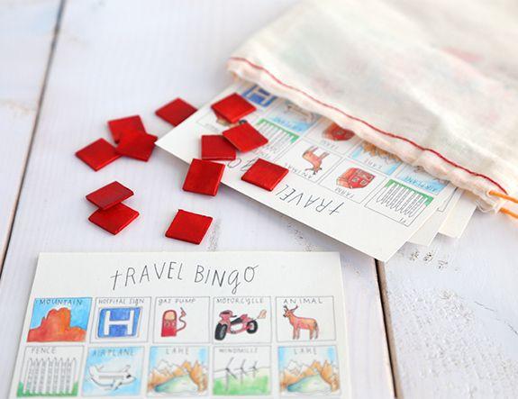 DIY Family Car Games: Travel Bingo Printable