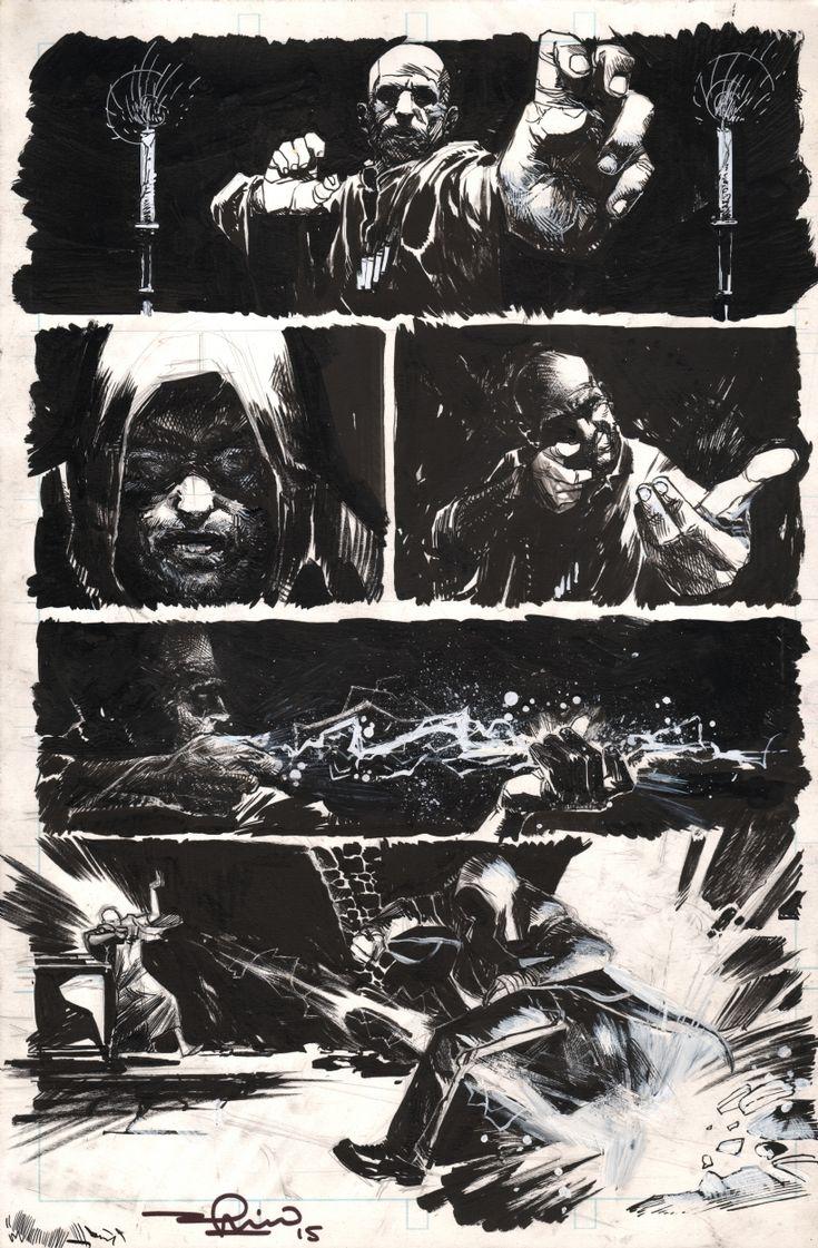 Karnak 02 page 10 - Gerardo Zaffino Comic Art