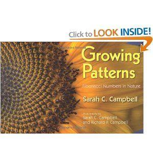 Growing Patterns-Fibonacci numbers- FANTASTIC BOOK- 1,1,2,3,5,8,11 in nature