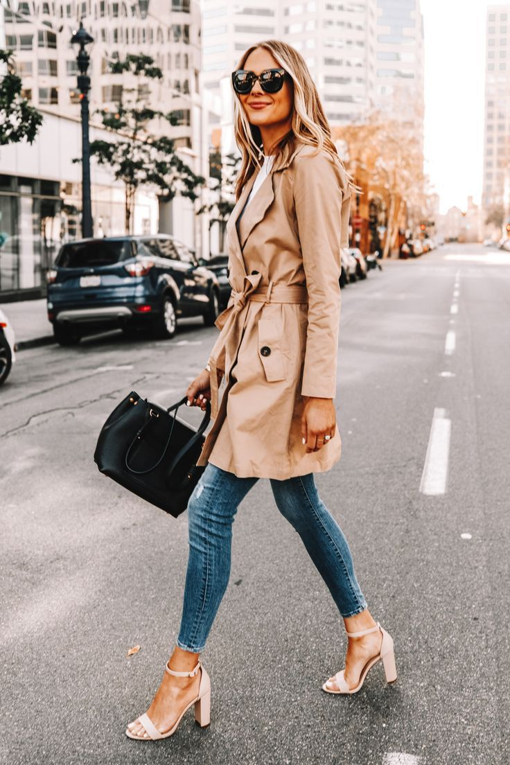 Trench Coat Outfit For Spring Trench Trenchcoat Womanfashion Fashionactivation Fashiontrends Trench Coats Women Trench Coat Outfit Coat Outfits [ 1104 x 736 Pixel ]