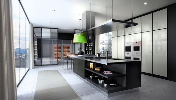 Poliform matrix kitchen home pinterest shelves for Poliform kuchen