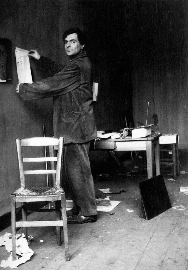 Dipingere qui. Dipingere per vivere ancora. #Modigliani