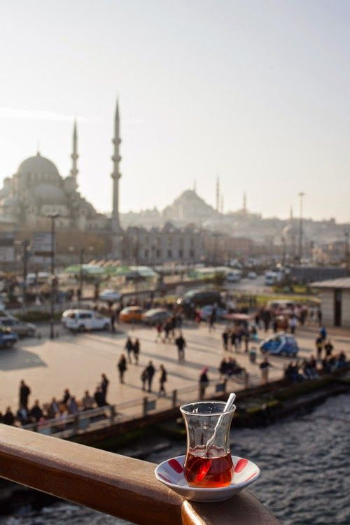 lecker lezmi: Görüşürüz, Istanbul! Wir sehen uns.