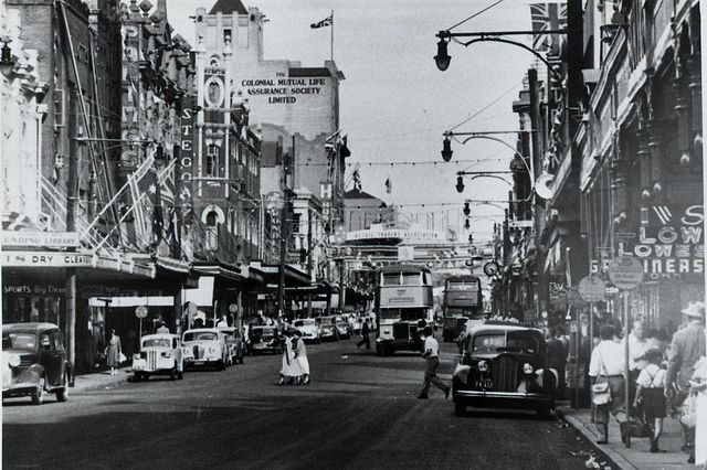 Hunter Street, Newcastle, NSW, n.d. Cultural Collections, University of Newcastle, NSW, Australia