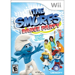 Smurfs Wii Dance Party! Not too bad of workout!!