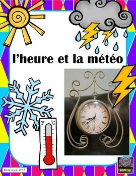 This internet activity focuses on both time and weather.  Through the use of a world time and weather site the students can explore numerous countries from around the world in terms of the local time and the current weather conditions. The website can also be used in either French or English offering a varied level of comprehension and difficulty for various grade levels.