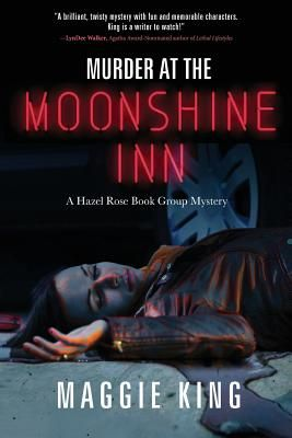When  Murder at the Moonshine Inn  opens, readers learn that it's been eight years since Hazel Rose--a computer programmer turned romance...