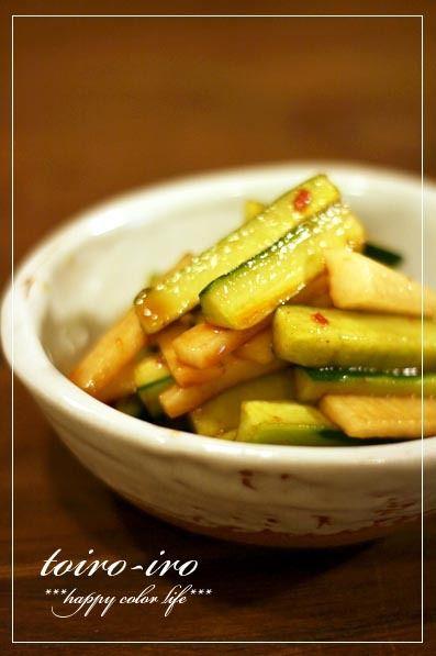 トイロ 公式ブログ - 塩昆布の炊き込みご飯と、きゅうりと大根のピリ辛 ... トイロイロ ***happy color life***-きゅうりと大根のピリ