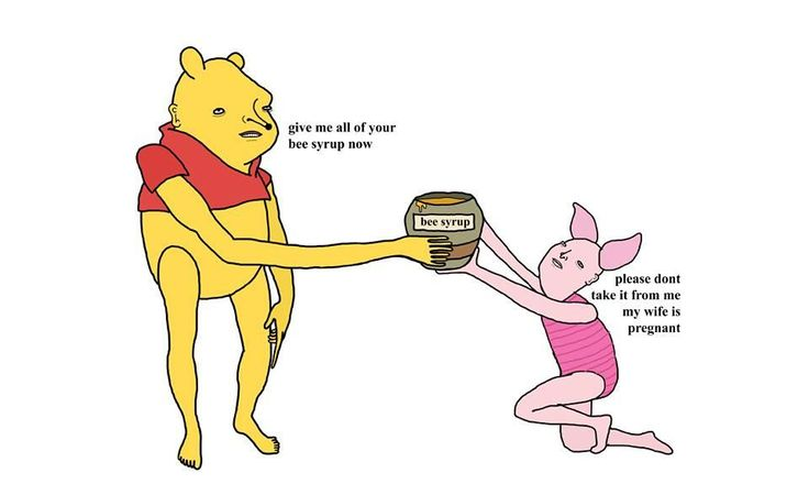 Give Me All Your Bee Syrup (Winnie the Pooh) | Chris (Simpsons Artist) | Know Your Meme