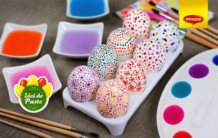 Creative Easter // Reinventeaza Pastele -> www.facebook.com/maggiromania