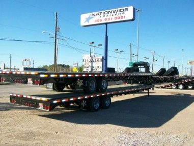 PJ TRAILERS 40ft GOOSENECK FLATBED TRAILERS for Hotshot - See more at: http://nationwide-trailers.com/inventory/pj-trailers-40ft-gooseneck-flatbed-trailers-for-hotshot/#sthash.ZgohcPMG.dpuf