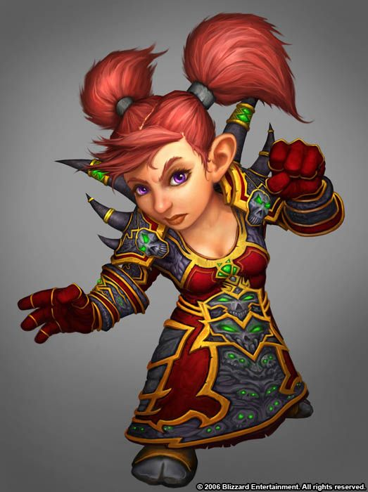Female Gnome | Gnome - WoWWiki - Your guide to the World of Warcraft
