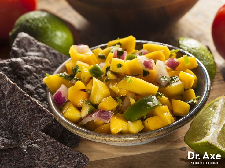 Avocados are a great anti-inflammatory food, plus high in healthy fats, potassium, magnesium and fiber. Try them with this delicious mango avocado salsa recipe!