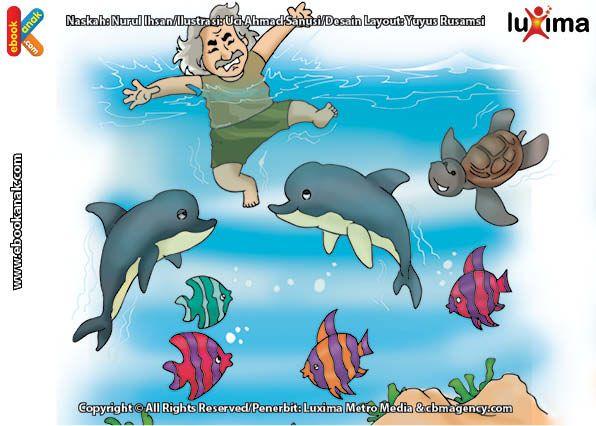 Hewan Terbesar di Dunia Ternyata Hidup di Laut | Ebook Anak