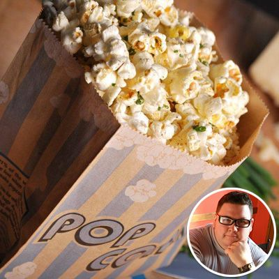 GRAHAM ELLIOT'S TRUFFLE POPCORN Claim to fame: Chef Graham Elliot is judge of Fox's hit show MasterChef and was a contestant on Top Chef Masters.