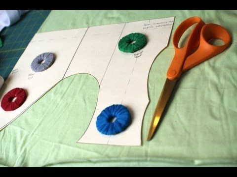 How to- Cute & inexpensive sewing pattern weights- Video Tutorial by @CraftyGemini