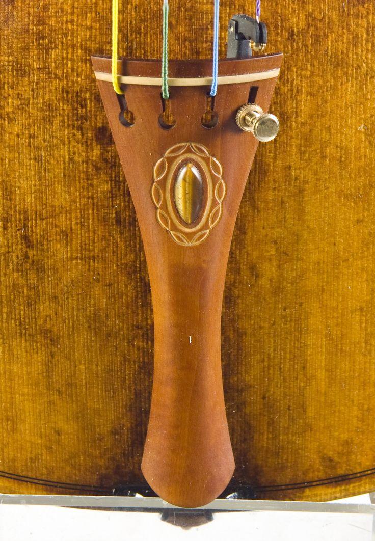 Tailpiece with Tiger eye stone handmade Rumen Spirov