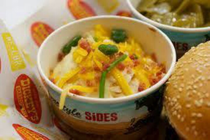 Favorite Side Dishes??  Baked Potato Casserole & Coleslaw & Okra & Onion Tanglers & Jalapeno Beans & Green Beans with Ham & Bacon!!!
