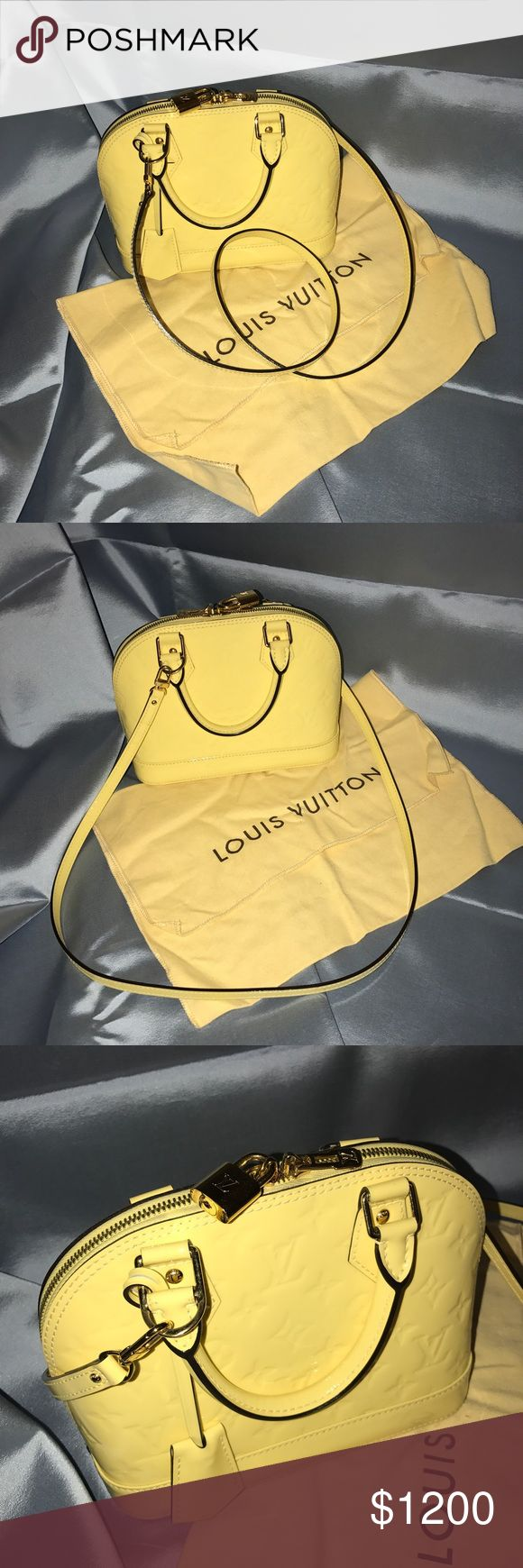 Louis Vuitton Alma BB Bag In good condition. Very small sign of wearing. Has original dust bag. A great summer bag just in time. Louis Vuitton Bags Crossbody Bags