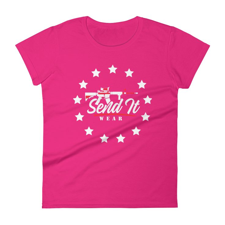 """Women's Original 13 Stars"" short sleeve t-shirt"