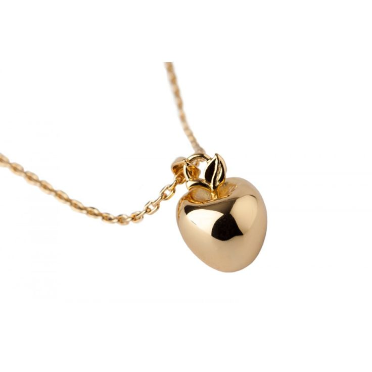 Perf Teacher Jewelry - Disney Couture Snow White Gold-Plated Poison Apple Necklace at Zentosa