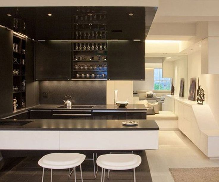 Modern Apartment Interior Design With LED Mood Lighting By Joel Sanders