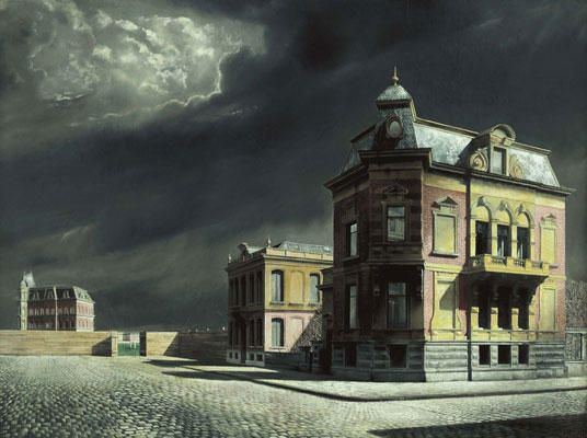 Carel Willink - Townscape, 1934 [536x400]