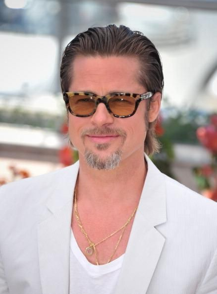 Brad Pitt with French Beard style