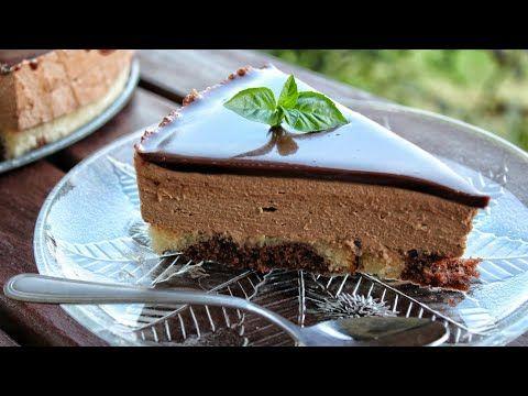 Εύκολη και Πεντανόστιμη Πάστα Σοκολάτας - The best Chocolate Cake Ever - YouTube