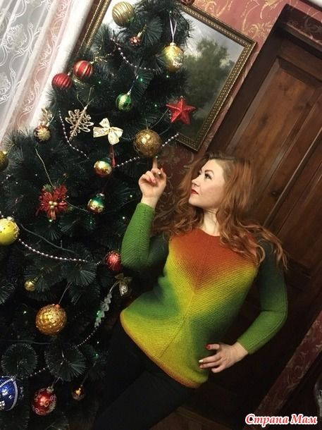 Всем здравствуйте! Поздравляю всех с очередным праздником Старым Новым годом!  Хочу показать свою новую работу. Он-лайн проходил здесь http://www.stranamam.ru/