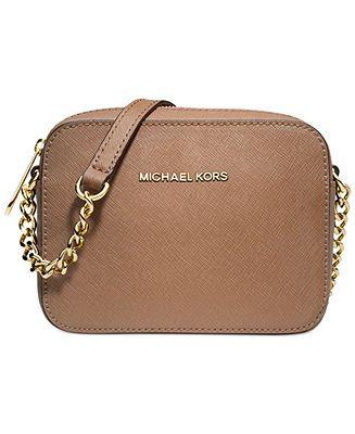 MICHAEL Michael Kors Jet Set Travel Crossbody - Handbags & Accessories - Macy's