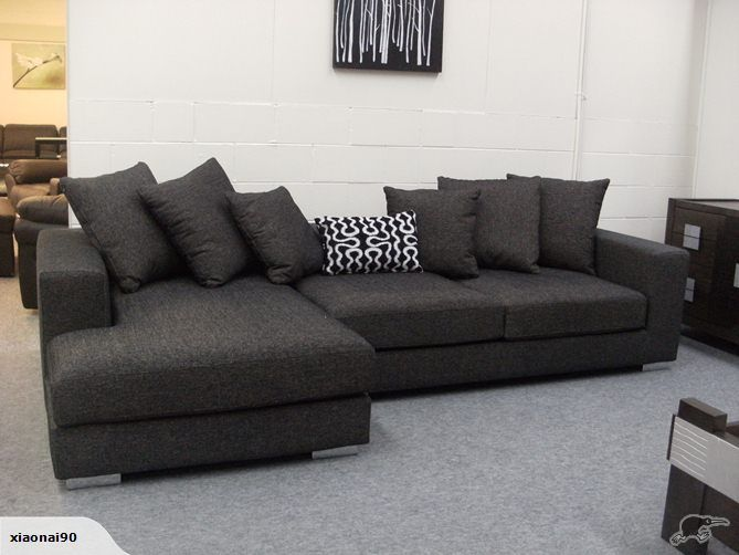 Sofas : BARCLAY Fabric Lounge Suite $1199