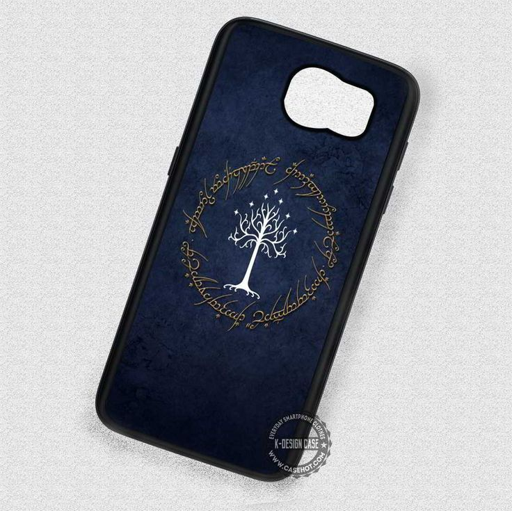 Circle Symbol Tree of Gondor - Samsung Galaxy S7 S6 S4 Note 7 Cases & Covers