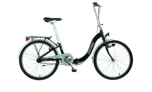 BICICLETA PLIABILA NEUZER FOLDING NEXUS 3 S 24″ #Bicicleta #pliabila de oras cu echipare completa, aripi, dinam, far, portbagaj, foarte buna pentru plimbarile lungi cat si pentru a inlocui mijlocul de deplasare zilnic.