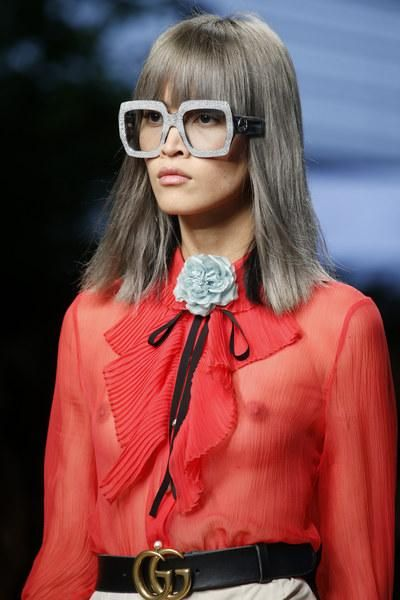 A detailed look at Gucci Spring 2016    Glasses