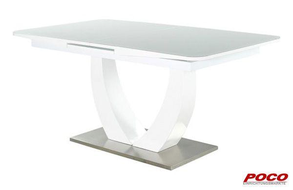 Esstisch Ulm Hochglanz Weiss Ca 160 X 90 Cm Esstisch Tisch Und Hochglanz