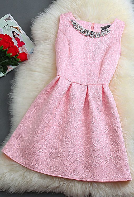 17 Best ideas about Pink Summer Dresses on Pinterest | Simple ...