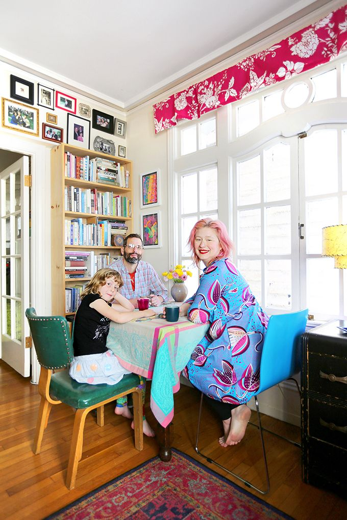 How This Maximalist Family Thrives in a 600-Square-Foot Apartment