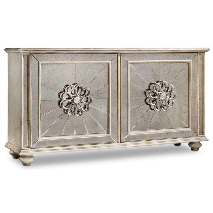hooker furniture melange mesmerize credenza in - Credenza Furniture
