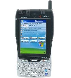 My first smart phone! The Hitachi G1000.
