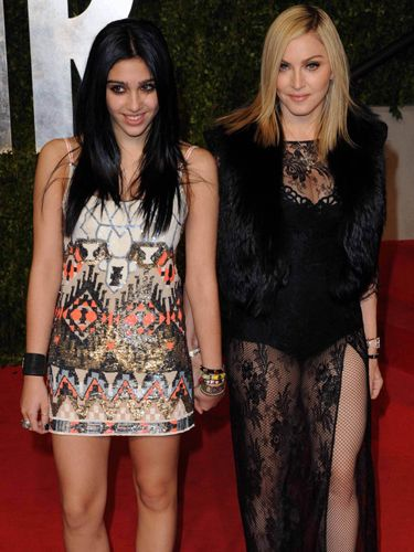 Madonna and Lourdes    You can't get more famous than megastar Madonna, but lately she's been supporting her daughter Lourdes' decision to step out into the spotlight. The two collaborated on clothing line 'Material Girl' and Lourdes has been her mum's date on the red carpet a lot lately! We can't wait to see what she does next!Daughters Lourdes, Mothers Day, Mothers Daughters, Red Carpets, Lourdes Leon, Madonna Daughters, Families, Celebrities Kids, Celebrities Mom
