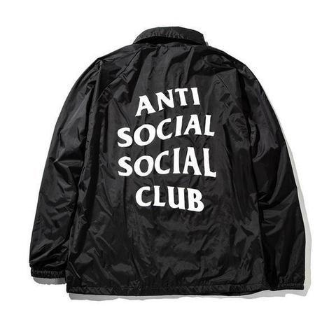 Black Anti Social Club Jacket
