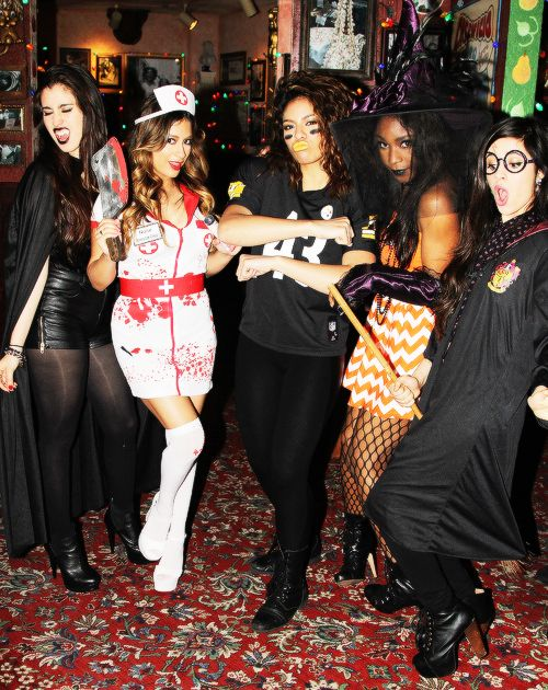 Fifth Harmony Halloween! Camila looks so cute!
