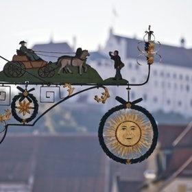 Landshut, Germany Hotel Goldene Sonne!