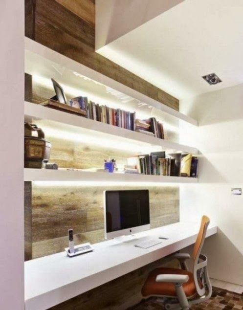 Desain Ruang Kerja Minimalis Modern Terbaru 2014
