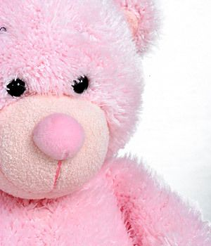 Pink Teddy Bear flower delivery gift service UK on we heart it / visual bookmark #14142741