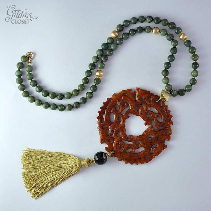 Collar Jade XXL - Alta Bisutería - Gilda's Closet
