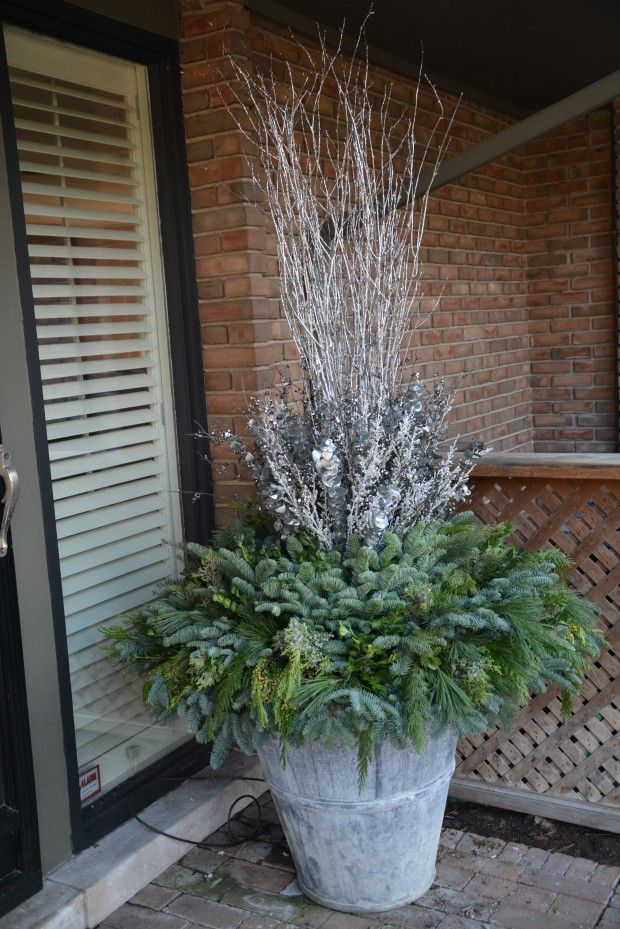 Winter Planter By The Amazing Deborah Silver Detroit
