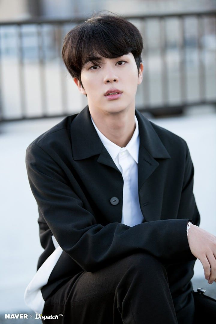 Kim Seok Jin || Shooting Special BTS 5th Anniversary Party